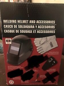 Lincoln Electric Welding Helmet Kit With Acc Auto Darkening Kh977 missing Acc