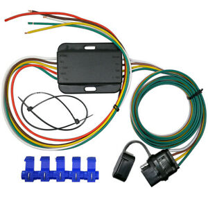 Taillight Converter With 20 Leads And 60 4 Way Wiring Connector Vehicle End