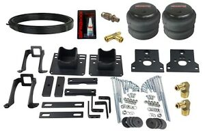 Bolt On Air Helper Spring Over Load Level Kit For 2005 10 Ford F250 F350 2wd