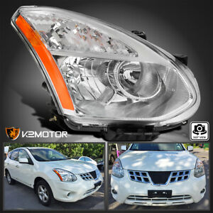 Passenger Side For 2008 2013 Nissan Rogue 2014 2015 Select Halogen Headlight R