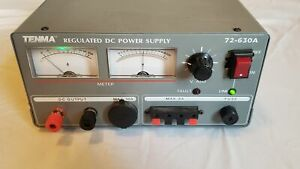 Tenma 72 630a 15v 30 Amp 10 Amp Linear Regulated Dc Power Supply Guaranteed