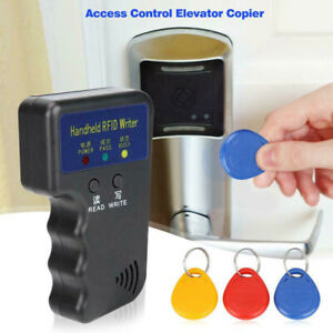 125khz Portable Rfid Duplicator Key Copier Reader Writer Id Card Cloner Safety