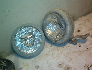 Tractor Headlight Fog Driving Ford Oliver Case 5 1 4 Bulb Parts