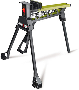 Jaw Horse Portable Material Support Station Clamp Solid Construction Work Bench