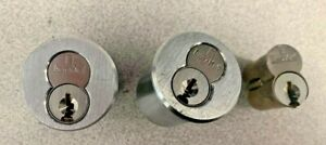 Instakey 7 Pin Interchangeable Cores With 2 Housings And 3 Cores Used No Keys