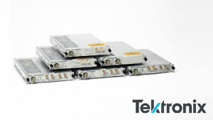 Tektronix 80c18 8000 Series Optical Module Dual Channel 30ghz Optical Bandwidt