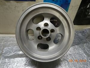1 Cragar Screamer 15 X 7 Aluminum Slot Mag Wheel Chevy Camaro Chevelle Ss Gto