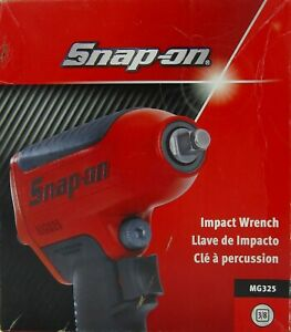 Snap On New Mg325 Super Duty Impact Air Wrench 3 8 Drive Free Quick Ship