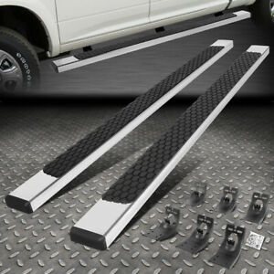 For 09 20 Dodge Ram 1500 2500 3500 5 Crew Cab Flat Step Nerf Bar Running Boards