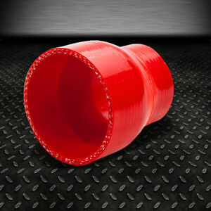 2 5 3 3 ply Straight Turbo intake Piping Silicone Coupler Reducer Hose pipe Red