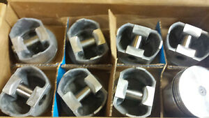 360 Chrysler Forged Pistons Flat Top L2386f 060 Over