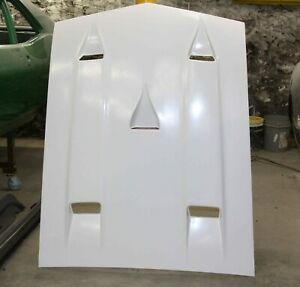 1969 1970 Mustang Shelby Style Hood With Ram Air Chamber New