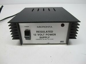 Micronta Regulated 12 Volt Power Supply