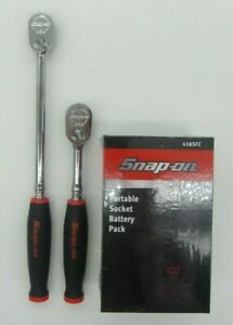 New Snap on Thll72 Thl72 Set Red Soft Handle Ratchets W Free Battery Pack