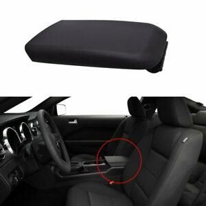 5r3z6306024aac For 2005 2009 Ford Mustang Black Center Console Armrest Lid Cover
