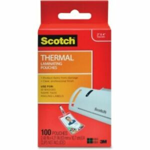 3m Scotch Thermal Laminating Pouches Tp5852100
