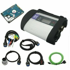 Mb Star C4 Sd Connect Compact 4multiplexer Diagnostic Toolfits For Mercedes Benz