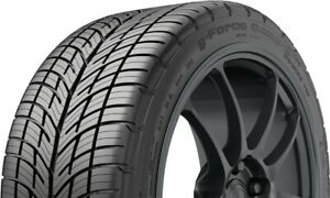 2 X New 235 45zr17xl W Bfgoodrich G force Comp 2 A s 235 45 17 Tires