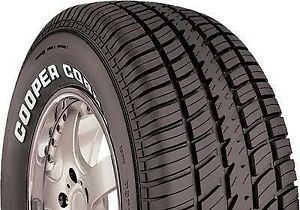 2 X New P235 60r14 T Cooper Cobra Radial G t 235 60 14 Tires