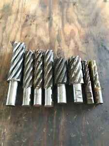 End Mills Several Sizes