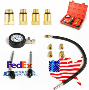 Us Shipping Motor Auto Petrol Gas Engine Cylinder Pressure Gauge Tester Tool