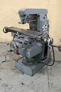 Fexac Horizontal Mill With Vertical Head Yoder 72578