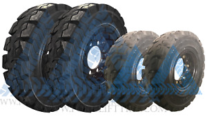 700x12 12x5 8h 600x9 9x4 6h Solid Tire Wheel Assembly 70012 6009 Forklift 4x