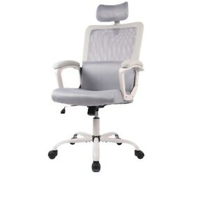 Mesh Office Chair Ergonomic Office Chair Executive Low Back Chair Gray