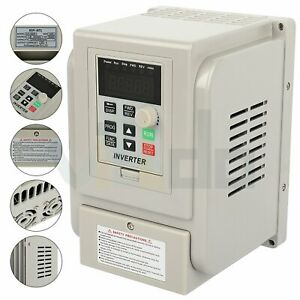 5hp 220v 4kw Variable Frequency Driver Interver Vfd Single To 3 Phase Output