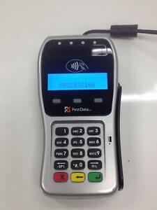 First Data Fd 35 Point Of Sale Card Reader Working Free Shipping