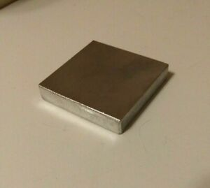 1 2 Thick X 2 Wide Square Aluminum Plate 6061 Alum Bar 2 X 2 Square Plate