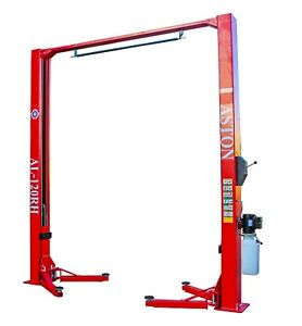 12 000lbs Two Post Lift Single Point Lock Release 2 Post Lift Car Auto Lift