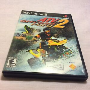 ATV Offroad Fury 2 (Sony PlayStation 2  2001) PS2 CIB Complete Free Shipping