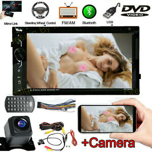 Camera hd Car Dvd Player Radio Stereo For Toyota Rav4 Corolla Hilux Camry Tundra