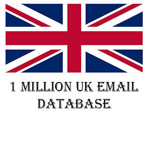 1 Million Uk Email List For Marketing Business Targeted Email List 2020