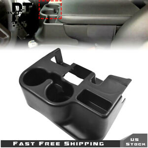 For 2003 12 Dodge Ram 1500 2500 3500 Center Console Cup Holder Attachment Black