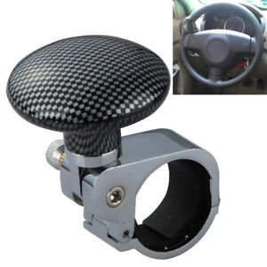 Us Sale Collapsible Car Steering Wheel Suicide Spinner Handle Knob Booster New