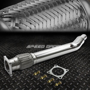 Stainless Turbo Racing Downpipe Exhaust For 03 05 Dodge Neon Srt4 srt 4 Turbo