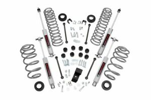 Rough Country 3 25 Lift Kit fits 97 02 Jeep Wrangler Tj 4 Cyl N3 Shocks