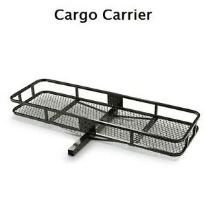 Cargo Carrier Steel Rack Truck Car 2 Receiver Hitch 500 Lb Capacity New