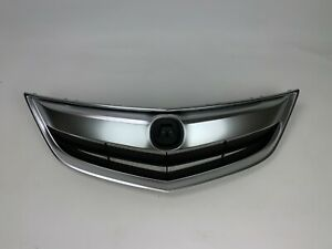 Fits 2013 2014 2015 Acura Ilx Grille Grill Assembly Chrome Hybrid Base Molding
