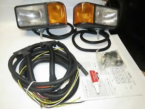 Nos Meyer Snow Plow Light Adapter Harness Kit 07033 Meyer W Lights Complete
