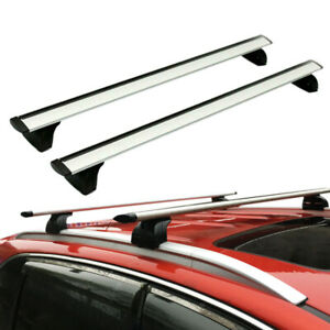 48 Universal Top Roof Rack Cross Bar Luggage Carrier Aluminum Fits Suv Truck