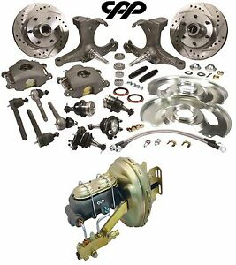 1963 66 Chevy gmc Truck C10 Front Disc Brake Conversion Kit 6 Lug Stock Height
