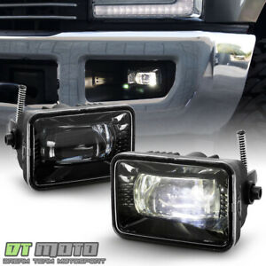For 2015 2017 Ford F150 17 18 F250 F350 F450 Cree Led Bumper Fog Lights Lamps
