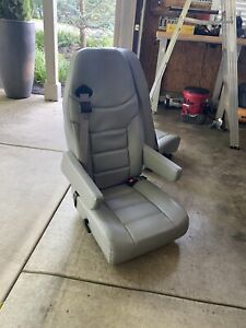 Like New Leather Van Seats From Ford Econoline With Armrest On Both Sides