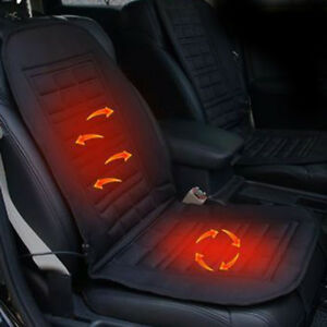 Universal Car Seat Heater Heated Cushion Thickening Winter Warmer Pad Cover