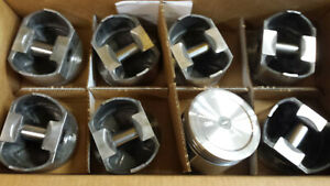 360 Chrysler Forged Pistons L2405 F 030 Over Set Of 8