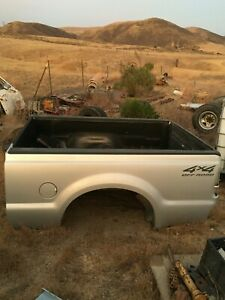 Ford Truck Bed Box Super Duty 99 10 Complete More Short Bed F250 Silver Metallic