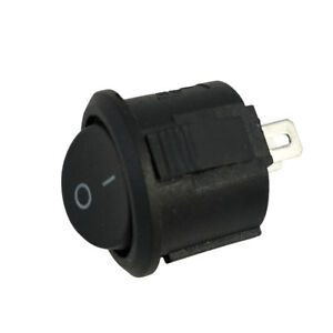 10 20 2 pin On And Off Spst Round Dot Car Truck Boat Rocker Toggle Switch